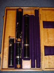High Quality Traditional flutes: Rudall,  Pratten,  etc