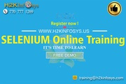 Selenium Online Training Classes by H2KInfosys