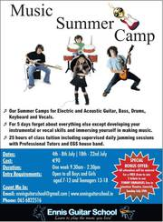 Music Summer Camp 2016,  Enroll Today!
